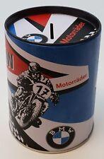 Nostalgische BMW Motorrad Bike Spardose Sparbüchse Gelddose Dose Vintage DOSPB13