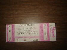 CONCERT TICKET STUB BON JOVI 3/14/93 UNUSED TICKET