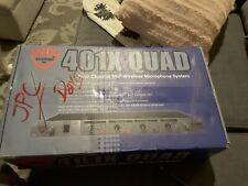 Nady 401X Quad Microphone System