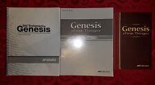 Abeka 12th Grade Bible Genesis Current Student Text Test Key Video Manual Lot 12