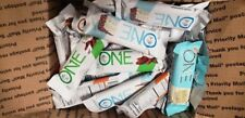 89 ASSORTED OH-YEAH ONE NUTRITION  PROTEIN BARS LQQK!!! NO RESERVE LOW SHIPPING