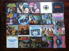 Sammlung 20x Single Metal Hardrock Krautrock (Alice Cooper The Sweet Status Quo)