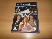 World Poker Tour PS2 NEW SEALED PAL
