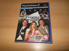 World Poker Tour PS2 Neuf Scellé PAL