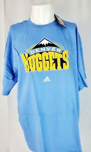 Adidas NBA Full Primary Logo Shirt Denver Nuggets SIZE XL - New with Tags