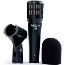 New Audix i5 Dynamic Instrument Cardioid Microphone Made in Usa Free Shipping