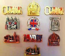 More details for metal london uk souvenirs fridge magnets british union jack england photo magnet