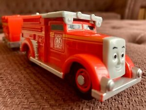 "Trackmaster Thomas & Friends ""Fiery Flynn"" battery operated engine red"