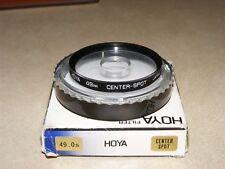 Cámara SLR Filtro de punto Centro Hoya para 35 mm SLR Digital &, hilo de 49 mm, Japonés