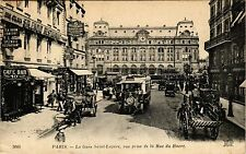 CPA Paris 8e, Paris - La Gare Saint-Lazare (362777)
