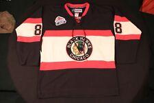 #88 Kane Blackhawks 2009 NHL Winter Classic Reebok 7187H JERSEY With Fight Strap