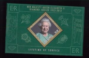 COOK ISLANDS #1408 Souvenir Sheet MNH - Queen Elizabeth II Diamond Jubilee - 36