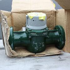 "New Elster H4000 water flow meter totaliser flanged 2"" 2 inch DN50"