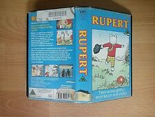 Rupert VHS Video - 1988 BBC Enterprises Ltd - 12 Delightful Stories