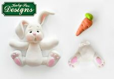 Katy Sue Sugar Buttons Bunny Rabbit Silicone Sugarcraft Mould