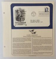 Claire L. Chennault Aviation Commander First Day Of Issue Louisiana 1990