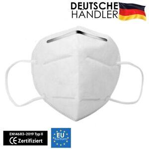 50 x KN95 Mundschutz Atemschutz Maske Gesichtsmaske Filtermaske Schutzmaske