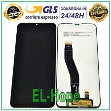 DISPLAY LCD WIKO VIEW 4 W-V851 V830 / VIEW-4 LITE W-V730 TOUCH SCREEN VETRO NERO