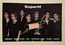 MARK SUPERM Official Signed US POP-UP PHOTO HOLLYWOOD NCT 127 postcard Photocard