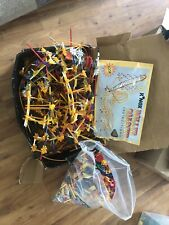 K'Nex Classic Roller Coaster Set 63030 With Box, Plus Extra Knex Total 20 Lbs