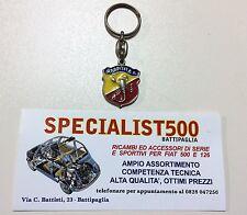 Porte-Clé Armes Abarth ( Fiat 500 de Collection)
