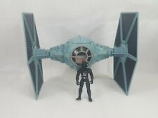 Hasbro Star Wars Power of Force 1995 Tie Fighter Vehicle Complete Darth Vader