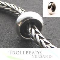 TROLLBEADS Sterling Silber Stopper NEU Silver Spacer - TAGBE-00073