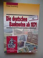 Die deutschen Banknoten ab 1871 Bewertungskatalog 2001