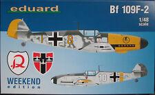 Eduard 1/48 EDK84147 Messerschmitt Bf109F-2 Weekend Edition