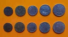 Regno d'Italia - Vitt. Emanuele III - 5 + 10 + 20 + 50 Cent. + 1 Lira 1942 SPL
