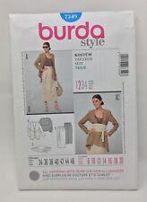 Burda Style Sewing Pattern 7349 Suit Size 8-20 Uncut