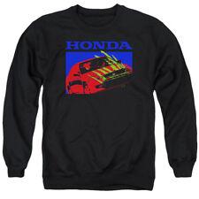 Honda Sweatshirt Bold Civic Coupe Black Pullover