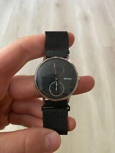 Withings Steel HWA03 HR 40mm Smart Watch Black Stainless Steel RF4090