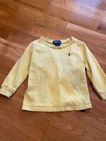 Toddler Boys Polo Ralph Lauren Long Sleeve Shirt, Size 24M, VS