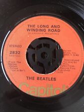 """The Beatles – The Long And Winding Road - US Pressing 7"""""""