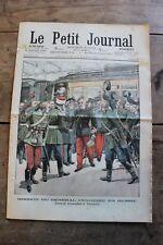 Petit journal dibujada nº669 1903 General Pendezec en Rusia Comedor sur la Seine