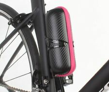 BM WORKS Tool Capsule Carbon Pattern Water Bottle Cage Storage Pink