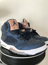 Air Jordan 5 Navy Blue Size 11 Retro Bronze