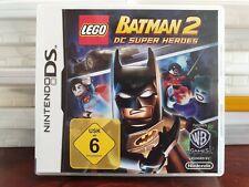 Lego Batman 2, Nintendo DS Spiel, guter Zustand, Dsi, Dsxl, 3Ds, 3Dsxl
