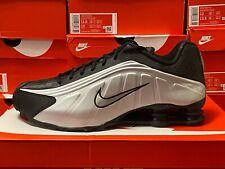 Nike Shox R4 Black/Black-Metallic Silver 104265-045 Men's Running Sneakers Shoes