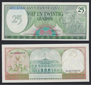 Suriname 25 gulden 1985 FDS/UNC  C-08