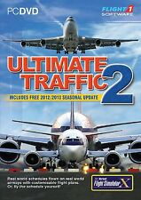Ultimate Traffic 2  2013 Edition for FSX (PC DVD) NEW!