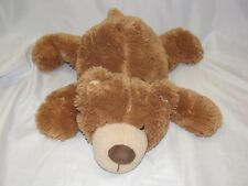 ANIMAL ALLEY STUFFED PLUSH TEDDY BEAR GOLD GOLDEN BROWN TAN FLOPPY LAYING LYING