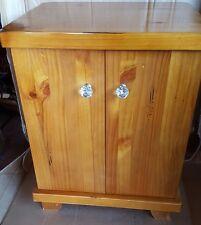 Next Furniture CD/DVD Storage Cabinet/Unit wood crystal knob Chunky Solid Wood