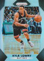 2017-18 Panini Prizm Basketball Silver Prll #32 Kyle Lowry Toronto Raptors