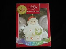 Lenox Christmas Ornament - Color Changing Lit Ornament-New - In Box