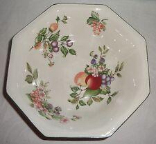 "Johnson Brothers England Fresh Fruit Octagonal Vegetable Serving Bowl 8 3/4"""
