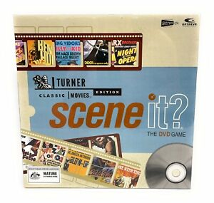 Scene It ? Turner Classic Movies Edition DVD Board Game New & Sealed