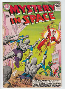 MYSTERY IN SPACE # 54 2ND ADAM STRANGE Science-Fiction 1959
