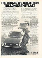 1977 Volvo 240 - Pebbles  - Classic Vintage Advertisement Ad D107